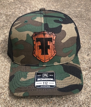FIGHTMASTER FIREARMS HAT M81WOODLAND/BLACK MESH