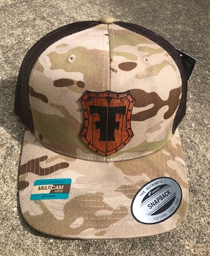 FIGHTMASTER FIREARMS HAT MC ARID/BROWN MESH (PRE-ORDER)